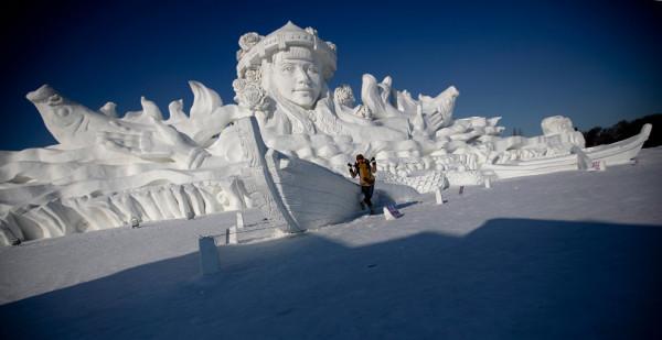 harbin china festival esculturas hielo
