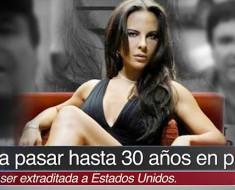 Kate del Castillo fue detenida por ayudar a escapar al Chapo