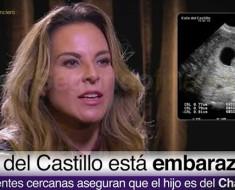 Kate del Castillo está embarazada y asegura que el hijo es del Chapo
