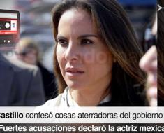 Mensaje escalofriante de Kate del Castillo para todos los mexicanos