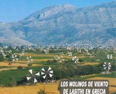 Los molinos de viento de la meseta de Lasithi en Grecia