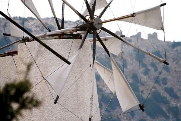 molinos de viento meseta lasithi grecia