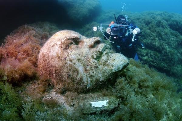 museo subacuatico tarkhankut crimea ucrania