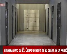 Primera foto de El Chapo dentro de su celda en la prisión Altiplano