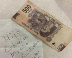 propina 500 pesos