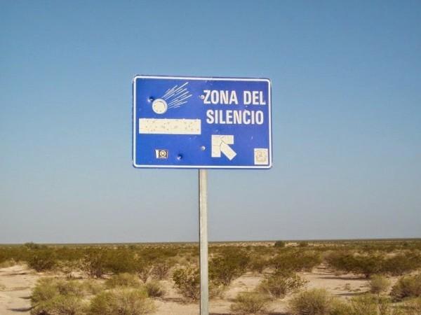 zona del silencio mexico