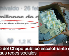 El Chapo ofrece 100 millones de dólares a quien lo saque de la cárcel