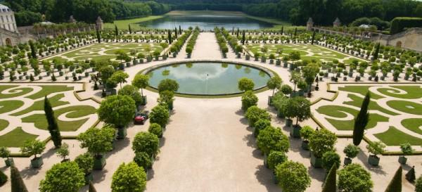 Los jardines de Versalles, Francia
