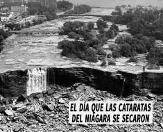 El día que las Cataratas del Niagara se secaron