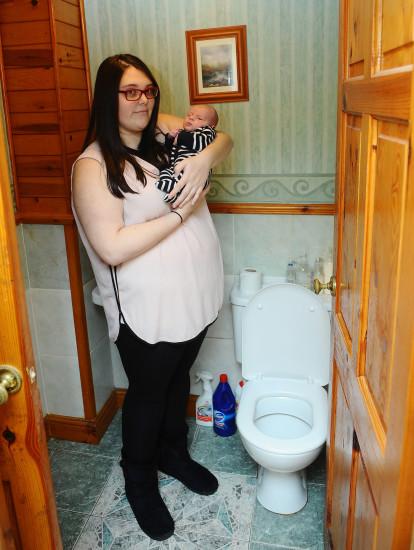 madre embarazada estreñimiento