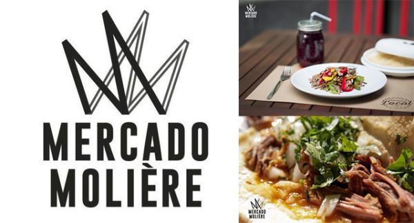 Mercado Gourmet Molière en Polanco, México D.F.