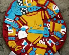 El Monolito de Coyolxauhqui, la diosa mexica de la luna