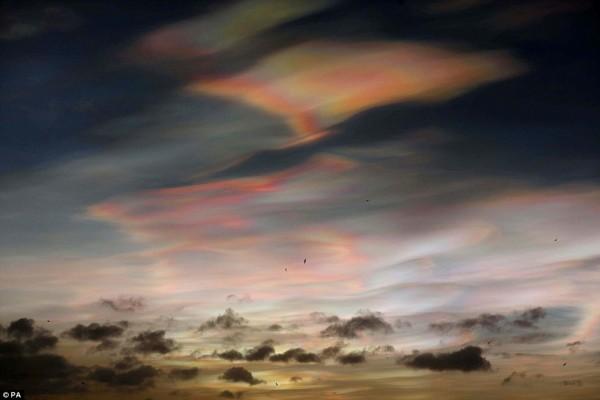 nube estratosferica polar