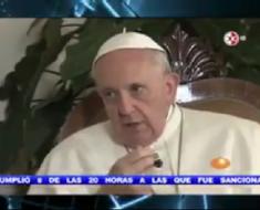 Papa Francisco: Es infantil culpar al gobierno por la desaparición de los 43 estudiantes, la culpa es de...