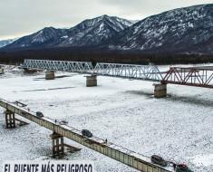 El puente más peligroso del mundo esta en Rusia