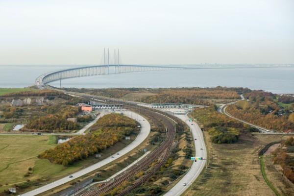puente oresund entre dinamarca y suecia