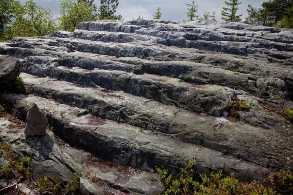 rocas montañas vottovaara
