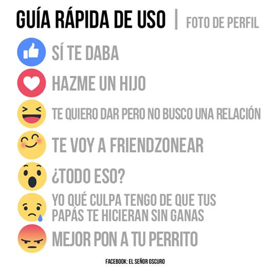 significado reacciones facebook emoji para que usarlos
