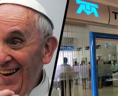 La verdadera razón de la visita del papa