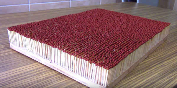 6000 cerillas
