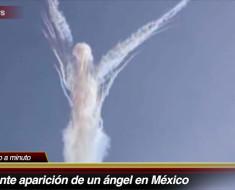 Apareció un Ángel en el cielo de Michoacán