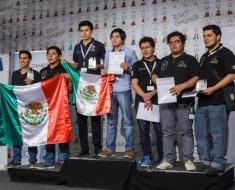 Estudiantes mexicanos ganan primer lugar en mundial de robótica