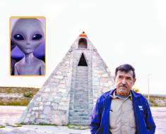 extraterrestre mexicano construir piramide
