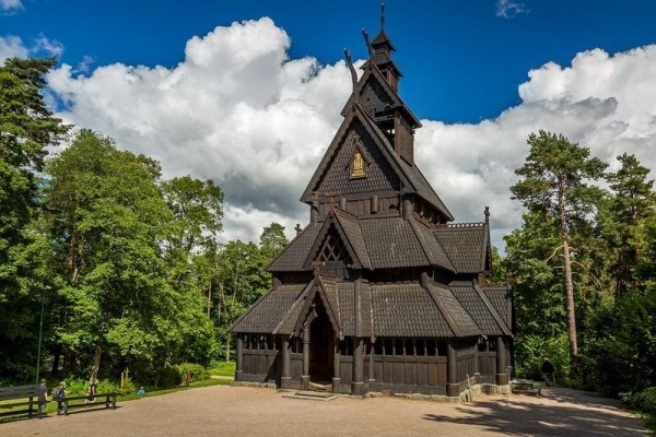 iglesia de madera de gol stave