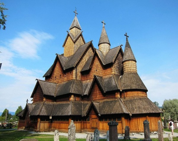 Iglesia de madera de Heddal