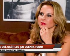 Kate del Castillo ¡Lo cuenta todo!