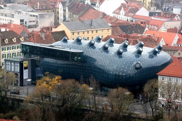 kunsthaus graz art museo