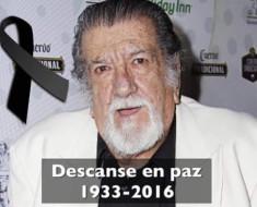 """Pedro Weber """"Chatanuga"""", cómico del cine mexicano de ficheras, se fue en paz"""