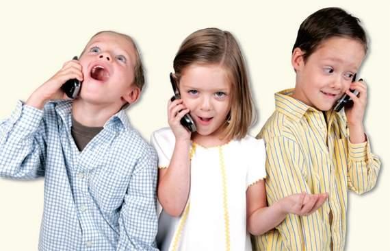 5 enfermedades que los teléfonos provocan a los niños