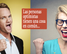 Las personas optimistas tienen una cosa en común...