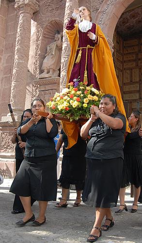 procesion Viernes Santo en San Miguel de Allende