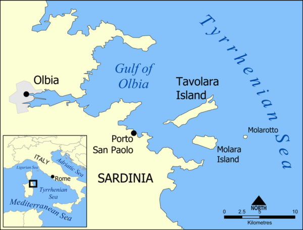 reino isla tavolara