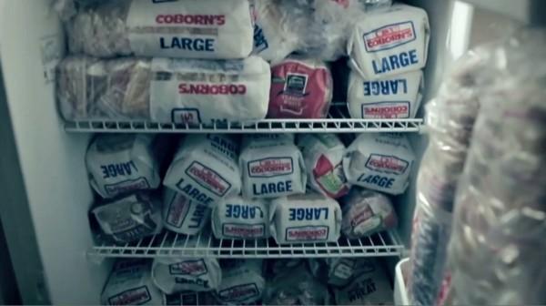 17 refrigeradores en su casa sandwich man