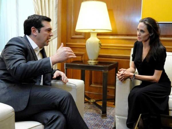 Angelina Jolie Grecia