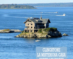 Clingstone, la misteriosa casa sobre las rocas