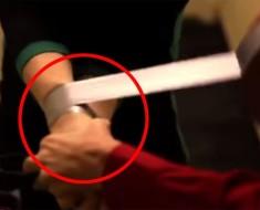 Cómo escaparte si te atan las manos con cinta aislante
