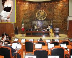 Edecan gana 29 mil pesos al mes por sacar copias en el Congreso