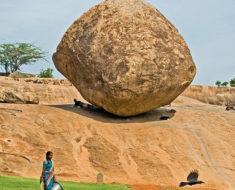 la bola de mantequilla de krishna mahabalipuram india