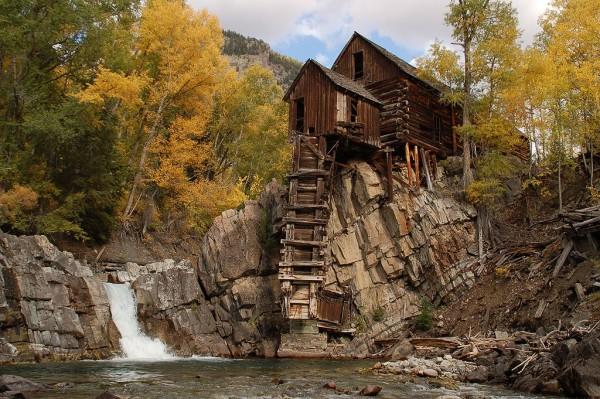 El misterioso pueblo fantasma de Crystal en Colorado ... Mountain
