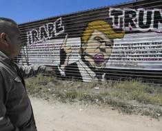 Este mural anti-Trump en Tijuana es una atracción turística
