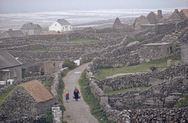 muros de piedra irlanda