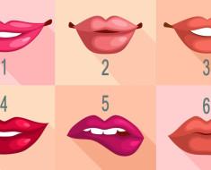 Descubre tu personalidad dependiendo de la forma de tus labios