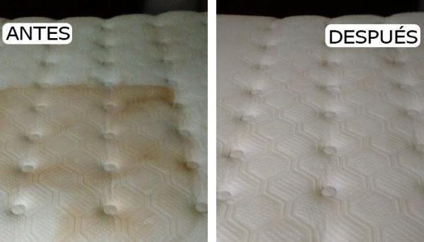 remedios caseros para limpiar olores y manchas en colchones