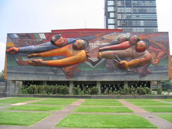 Los murales de la Universidad Nacional Autónoma de México