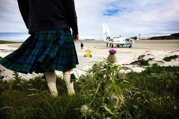 aeropuerto de la isla de barra escocia
