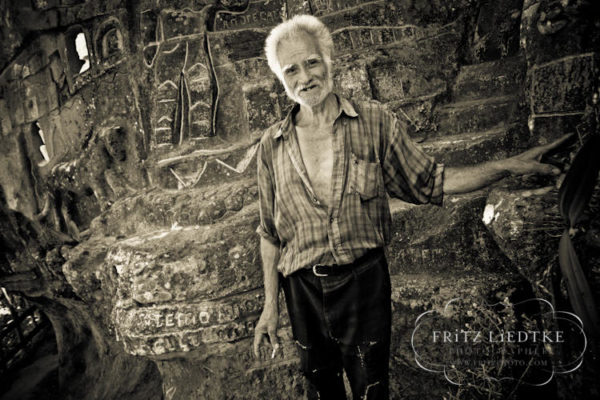 Alberto Gutiérrez, el hombre que talló una montaña